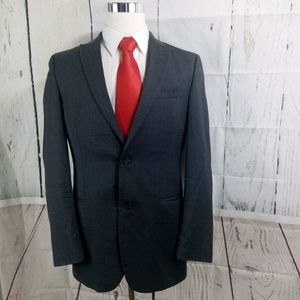 Alfani Macy's 41R Gray Suit Blazer Sports Coat